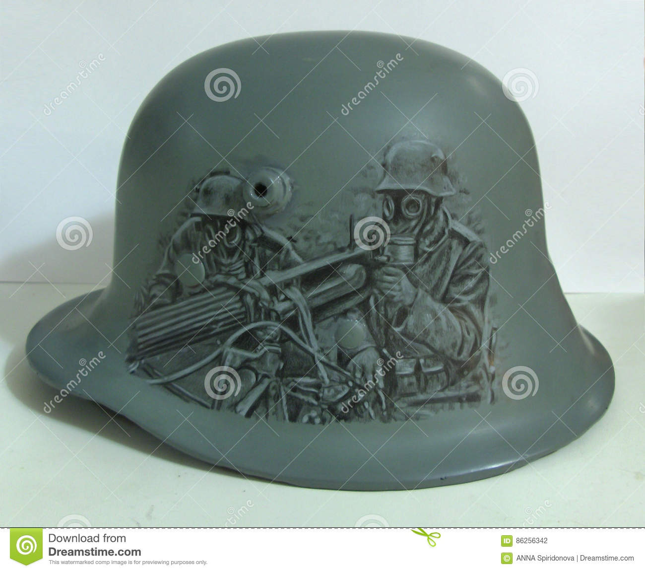 M17 helmet  Drawing  editorial photography  Image of
