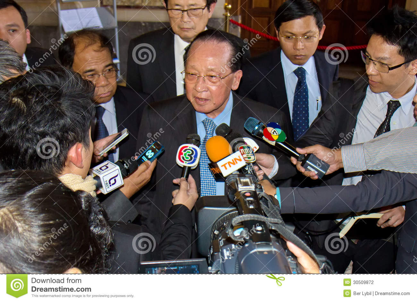 M. Hor Namhong, Afgevaardigde Prime Minister van het Koninkrijk van Kambodja