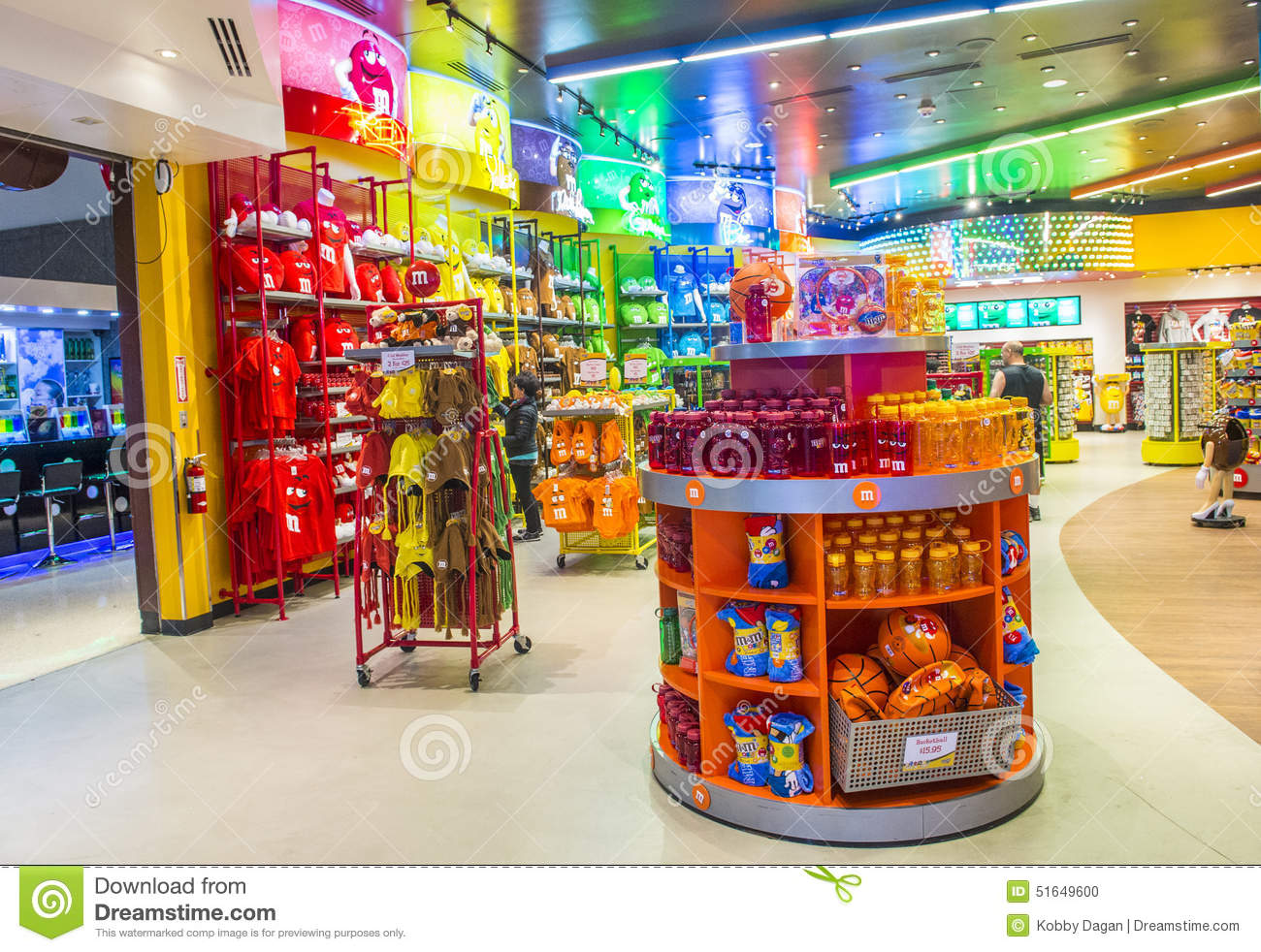 M&M World Las Vegas Editorial Photography - Image: 51649712