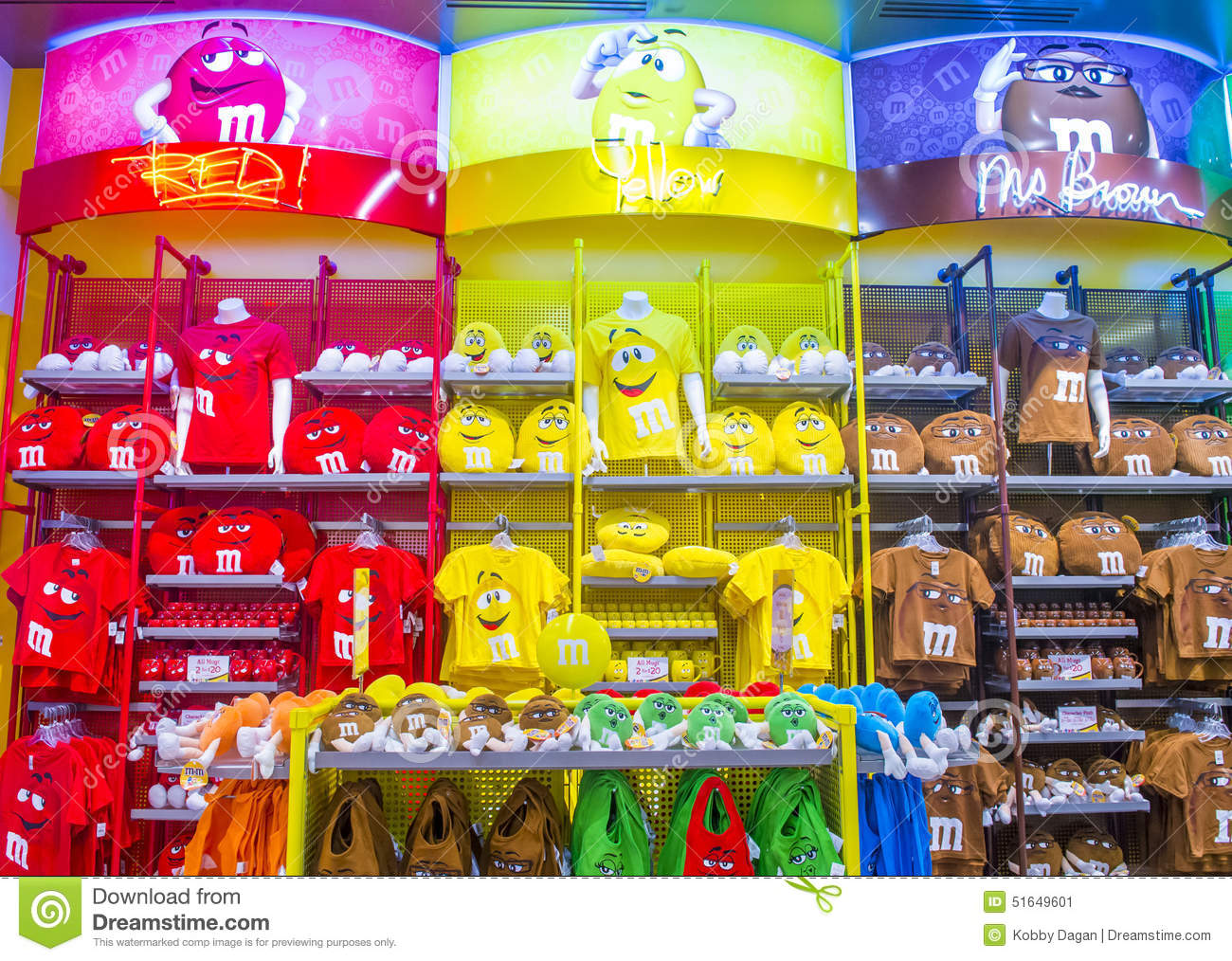M&M World Las Vegas Editorial Photo - Image: 51649601