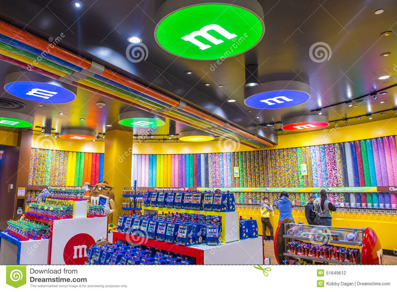 M&M World Las Vegas Editorial Photography - Image: 51649612