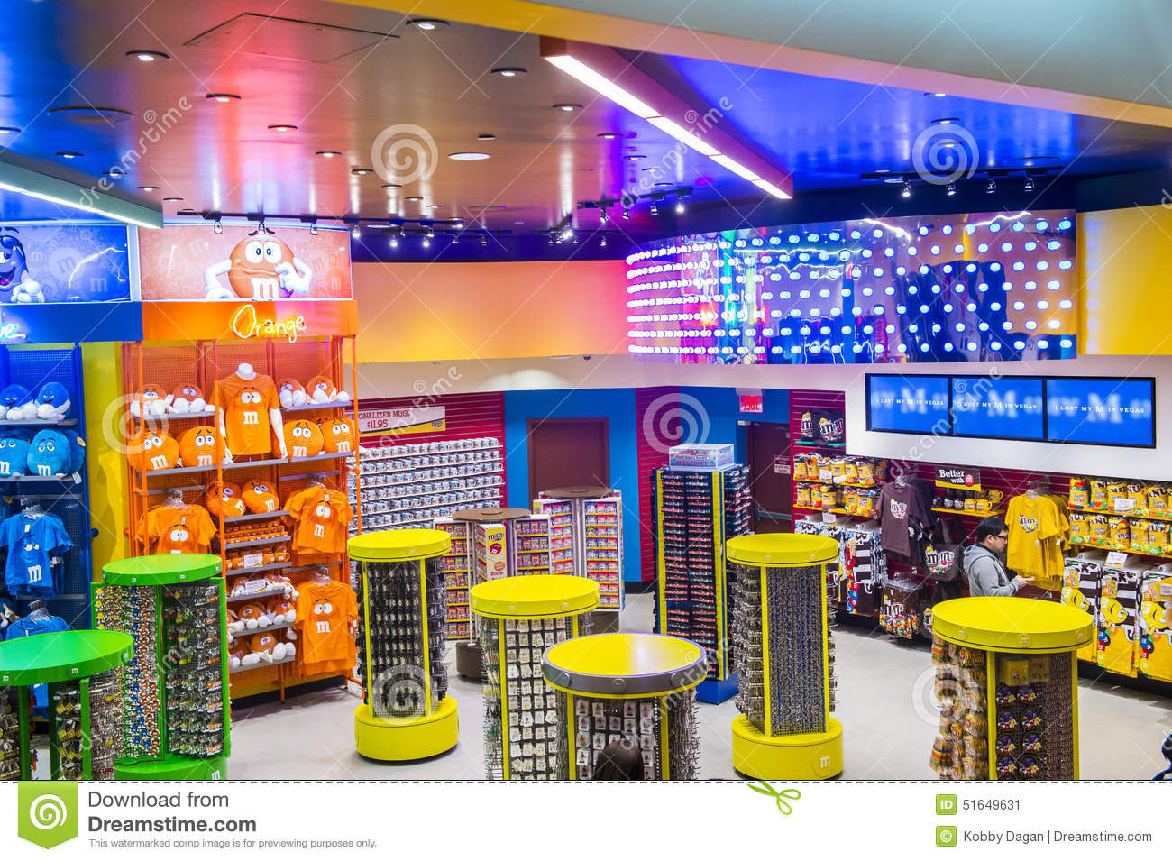 M&M World Las Vegas Editorial Photo - Image: 51649631