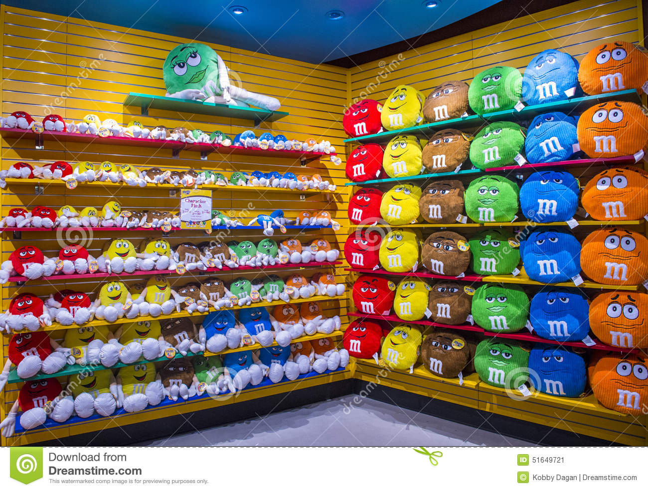 M&M World Las Vegas Editorial Photo - Image: 51649721