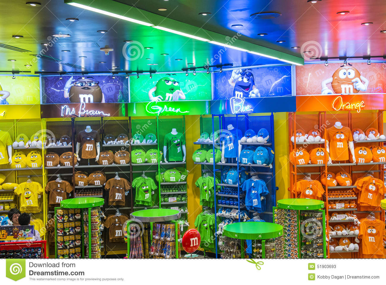 M&M World Las Vegas Editorial Stock Photo - Image: 51649703
