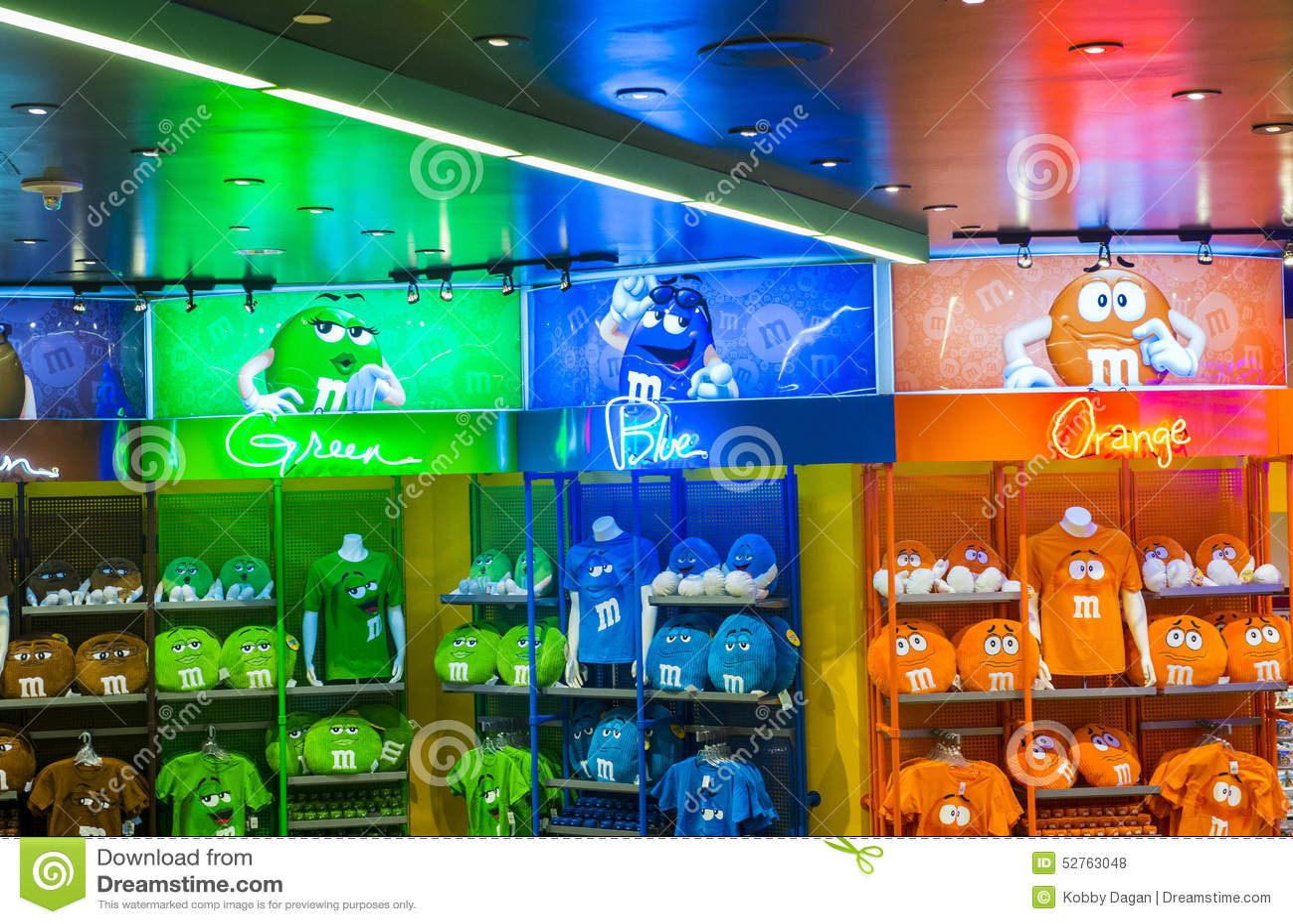 M&M World Las Vegas Editorial Stock Photo - Image: 52763048