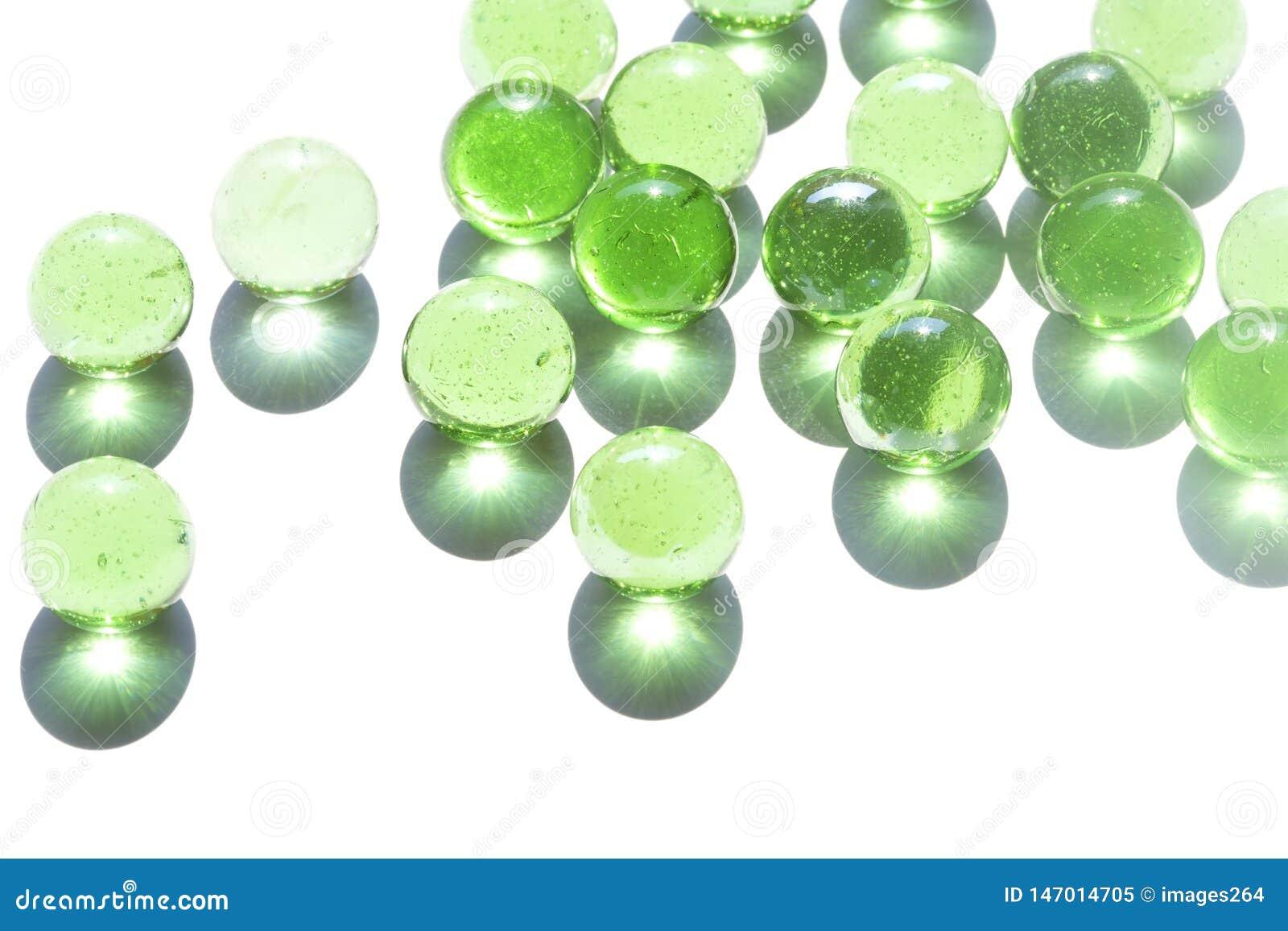 M?rmoles del vidrio verde