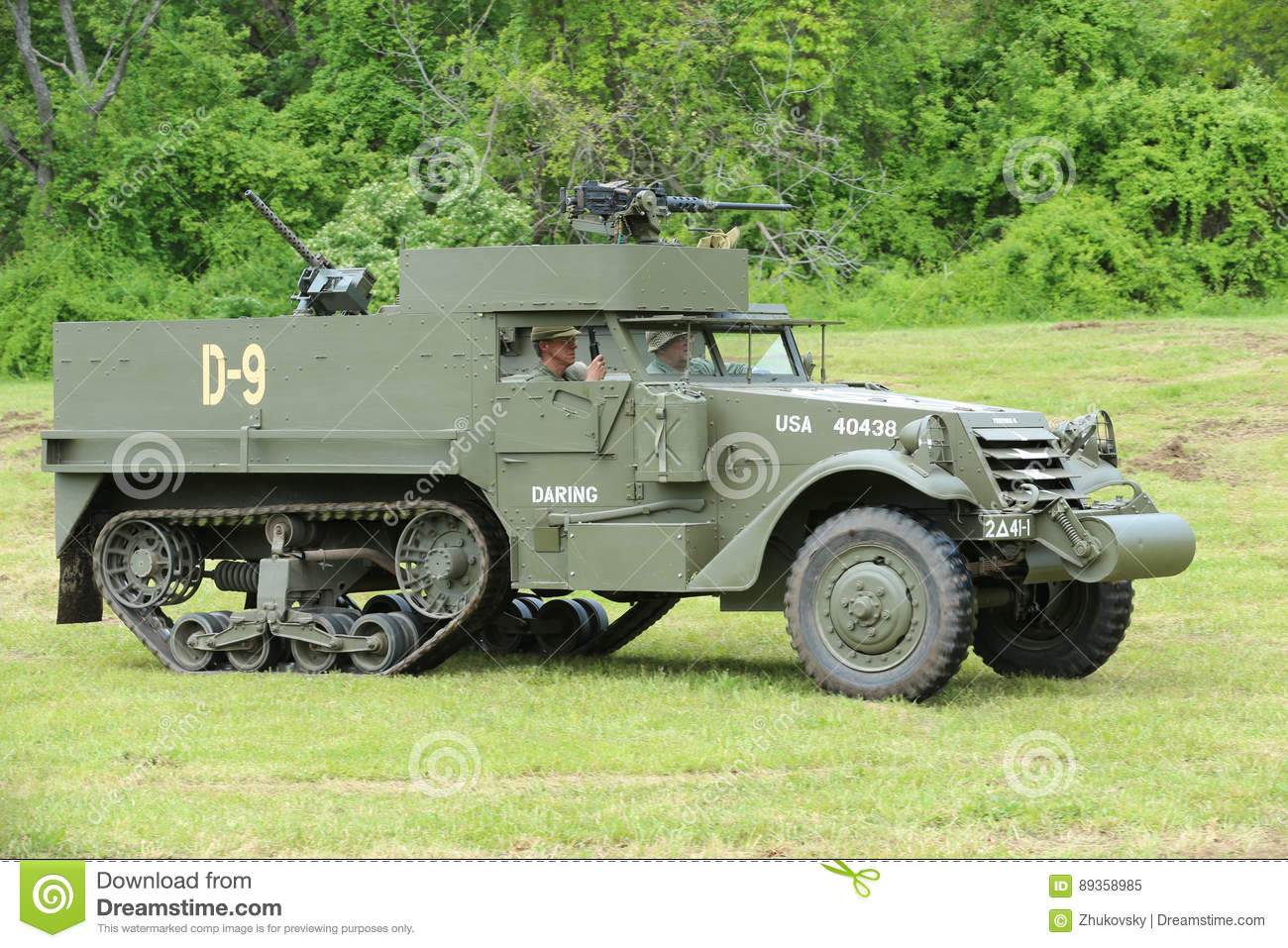 The MA Scout Car From The Museum Of American Armor During World - World war ii museums in usa