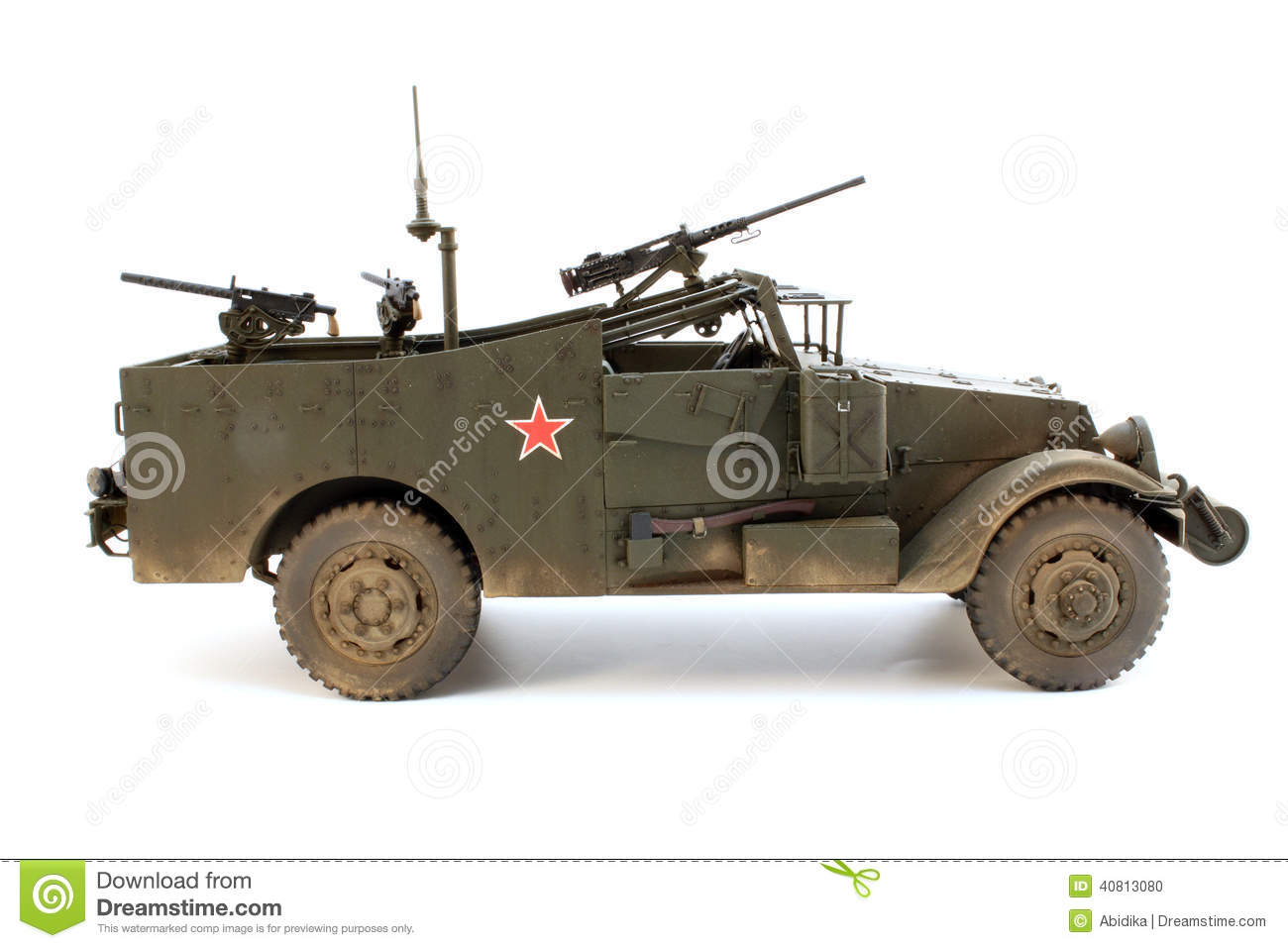 Stock Photo M Scout Car Right Side View Model Image40813080 on tractor radio antenna