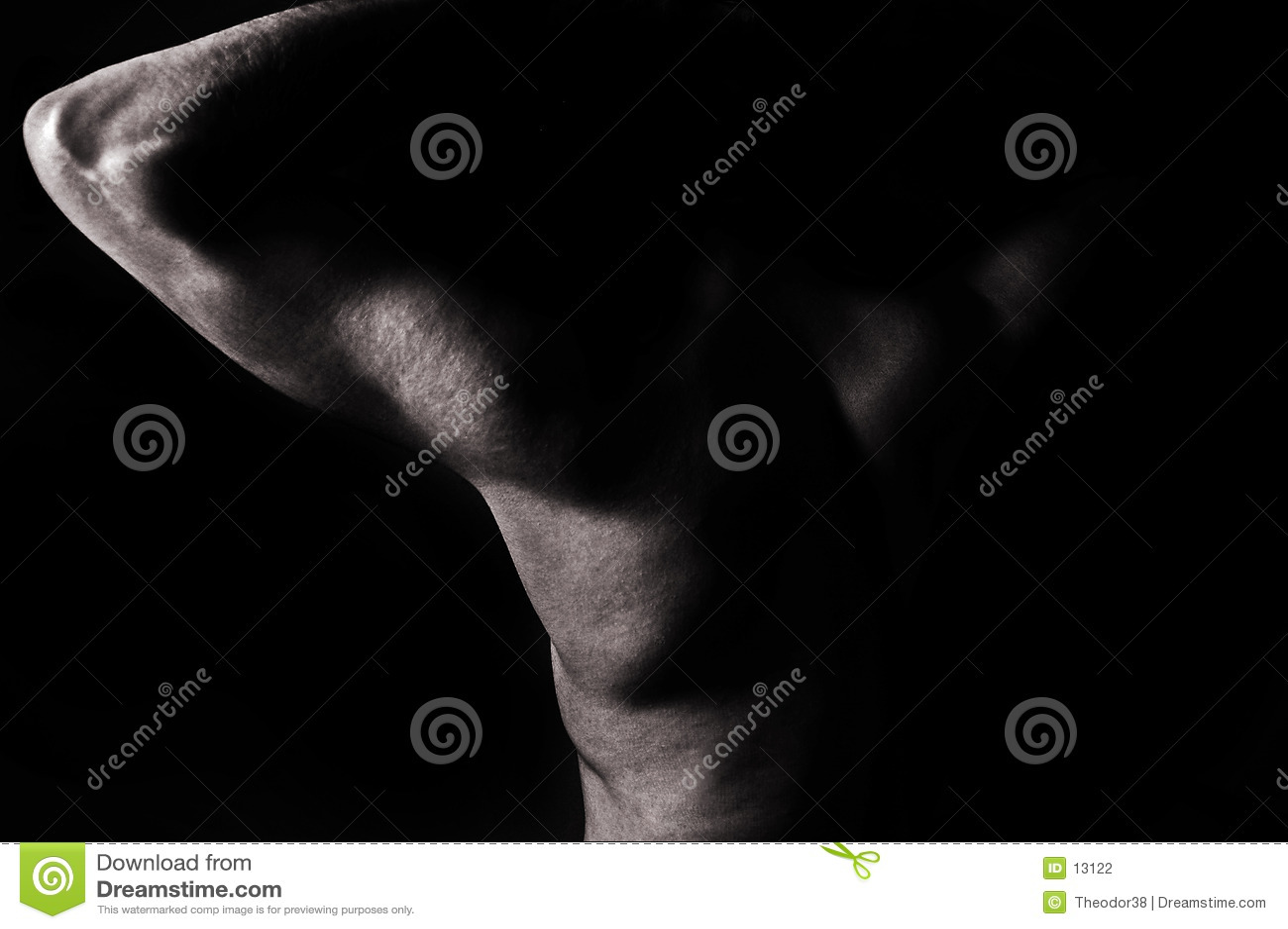 Download Męska nago zdjęcie stock. Obraz złożonej z nude, armada - 13122