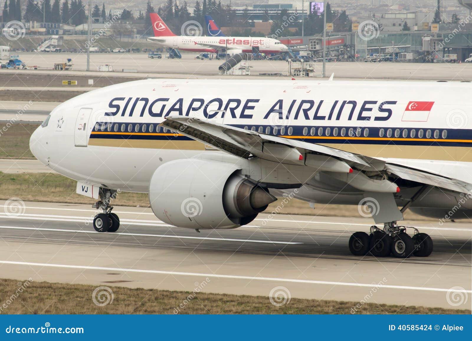 9M-SVJ Сингапоре Аирлинес Боинг 777-212ER