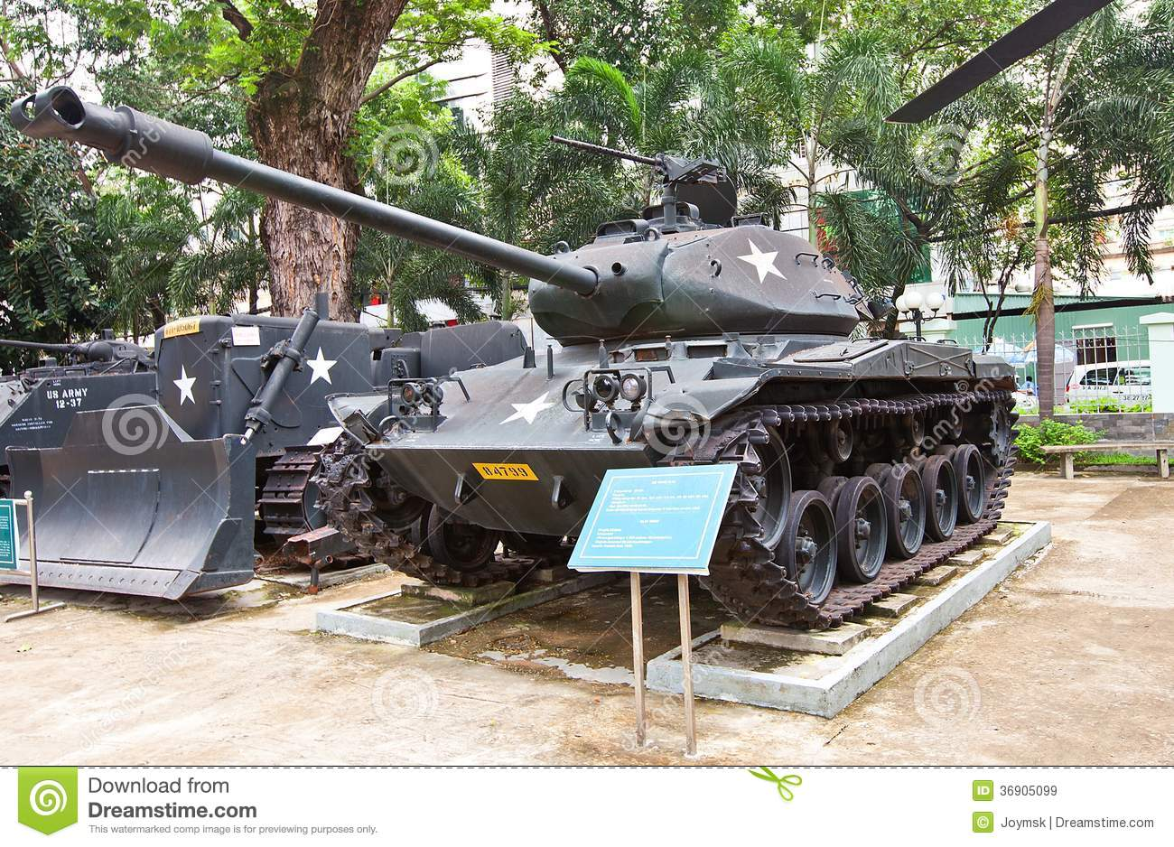 M USA Tank War Remnants Museum Ho Chi Minh Royalty Free Stock - War museums in usa