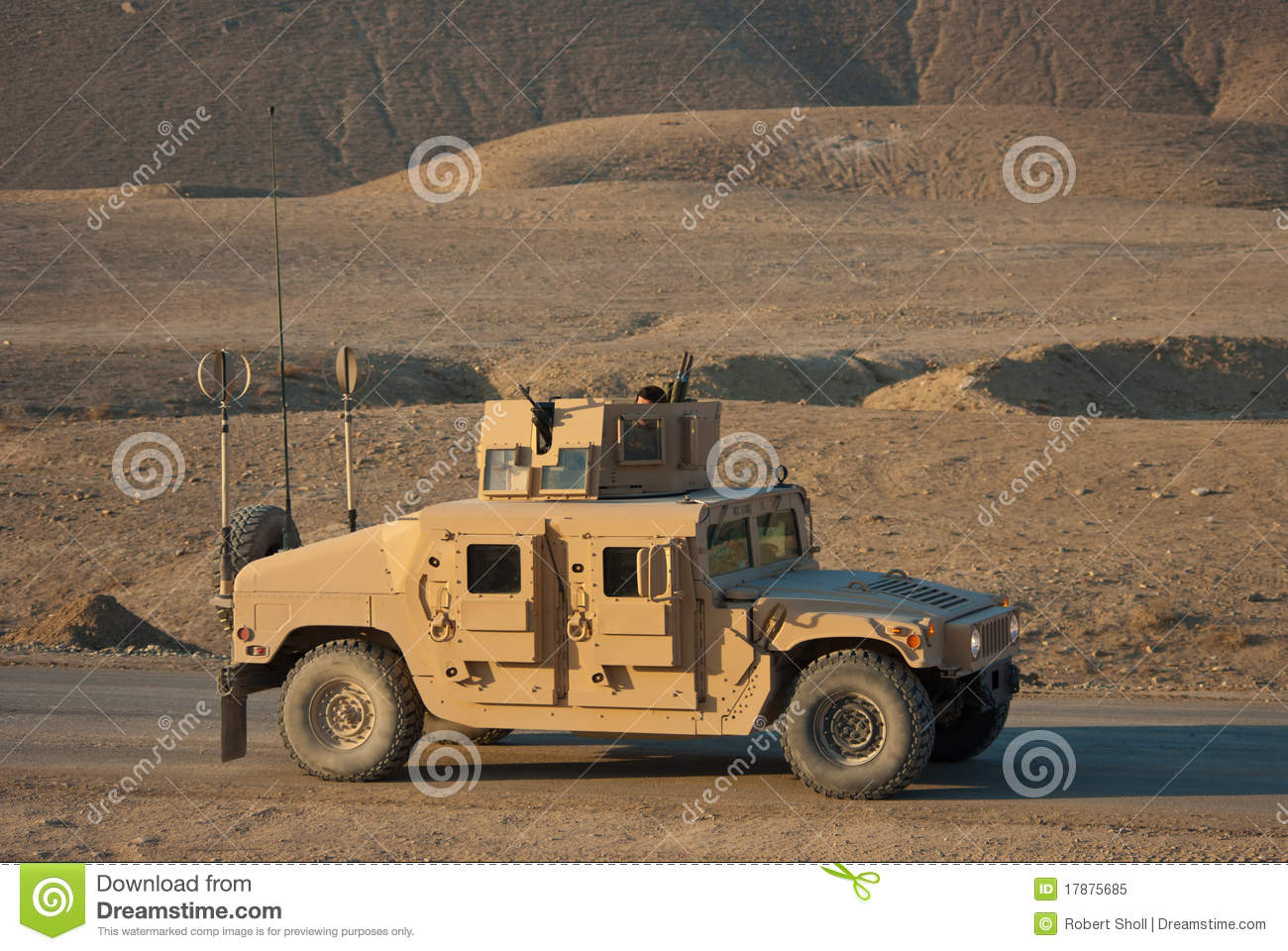 M1114 HMMWV stock image  Image of dirt, enduring, dust