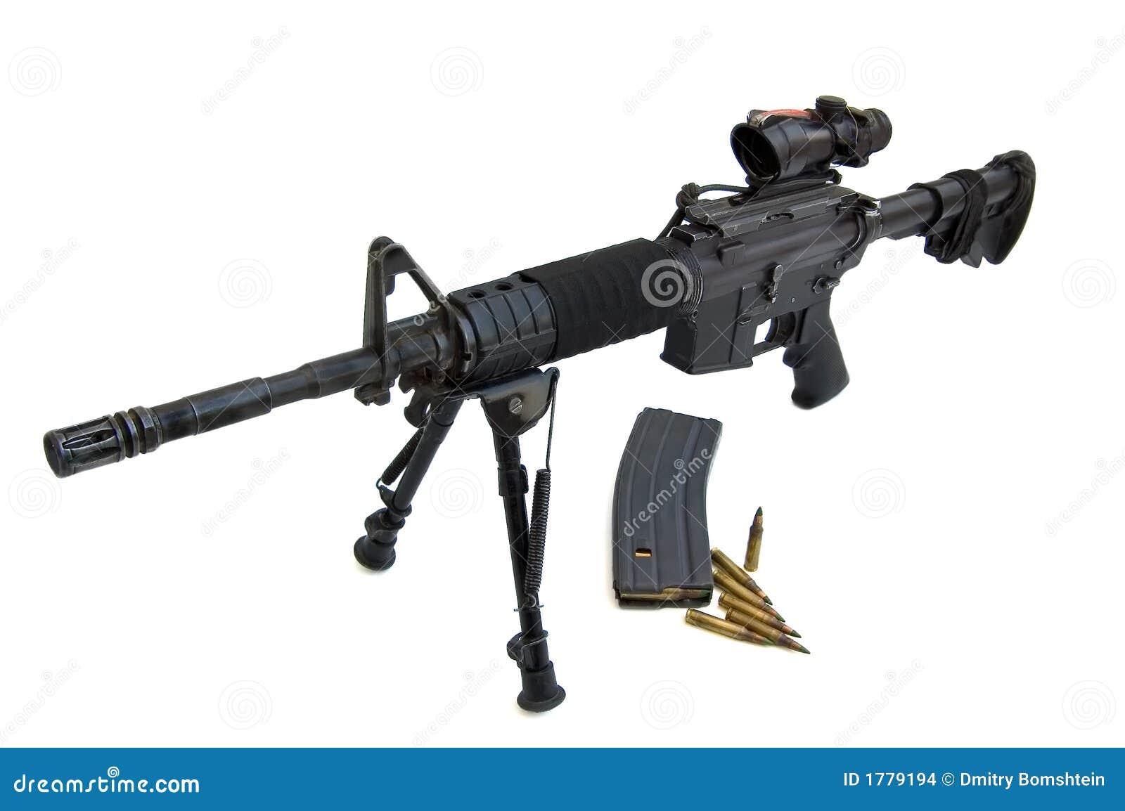 M16 Colt M4 Flattop Stock Images Image 1779194