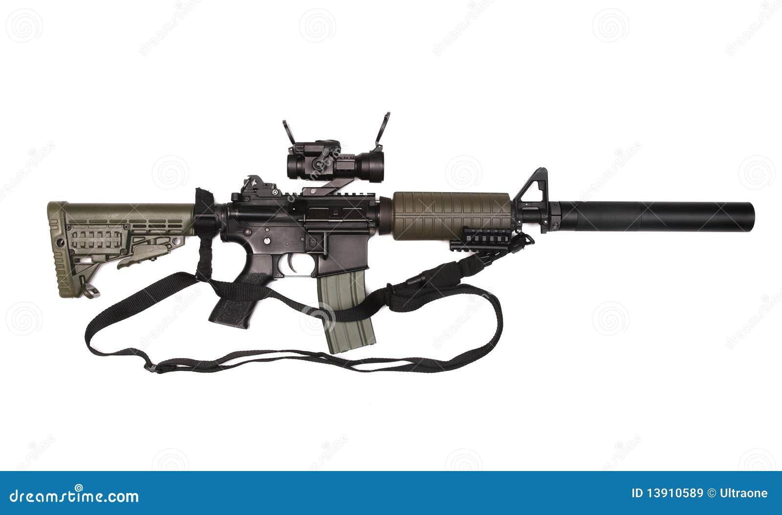 M4A1 mit Riemen.