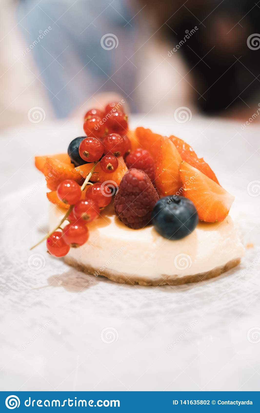 Małej owoc deser
