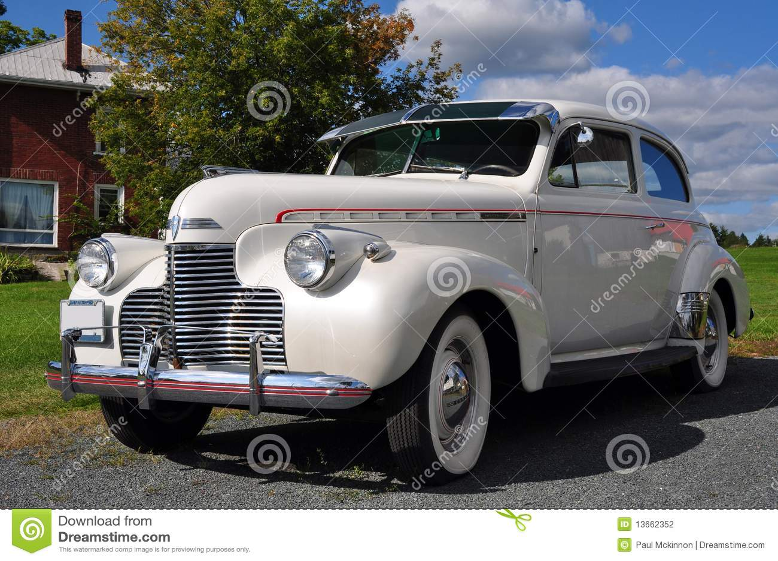 Maître de Chevrolet de 1940 blancs