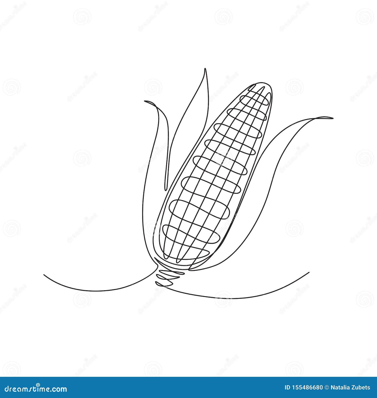 Maïs une ligne