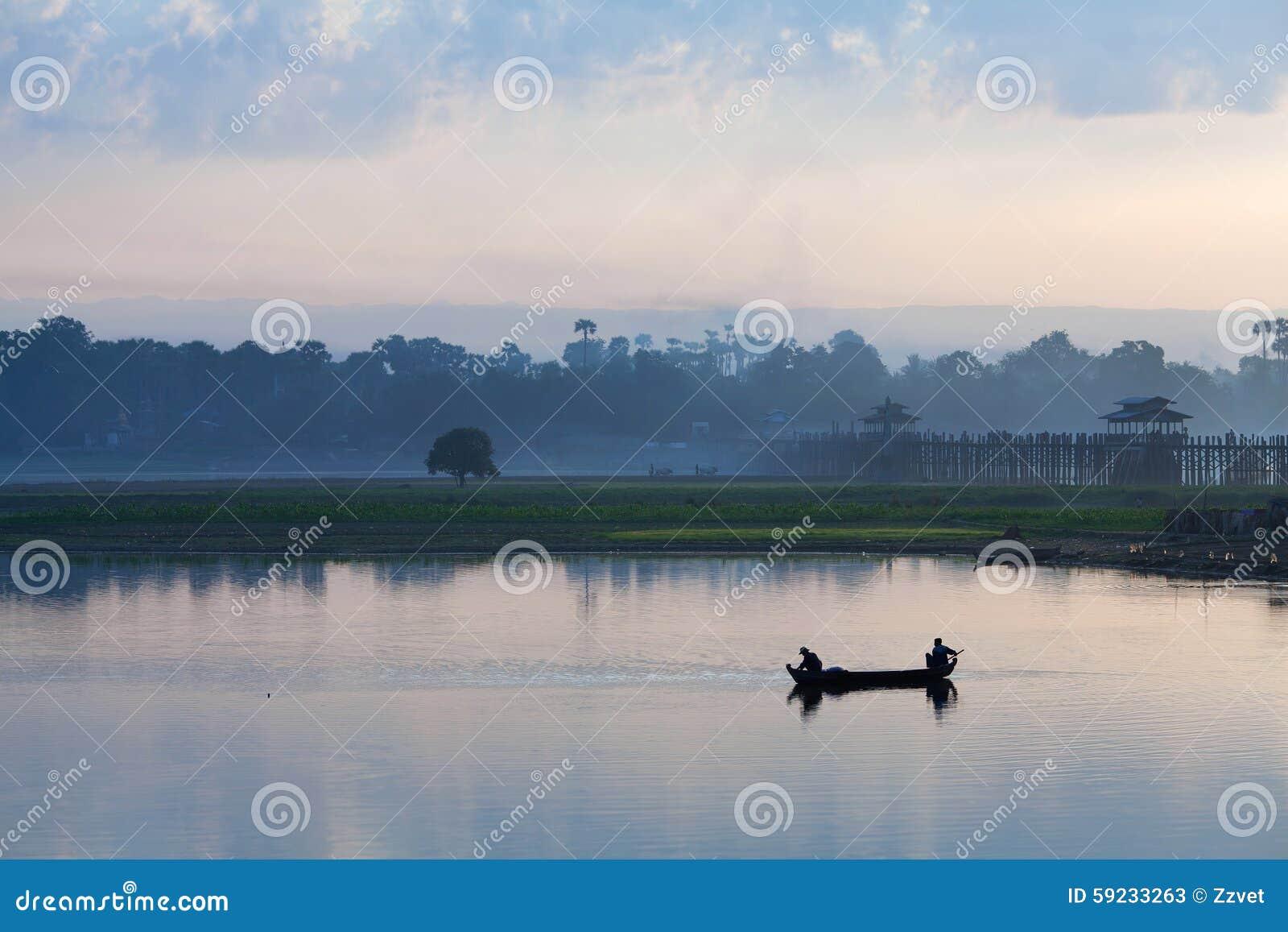 Download Mañana En Amarapura, Myanmar Imagen de archivo - Imagen de país, campesino: 59233263