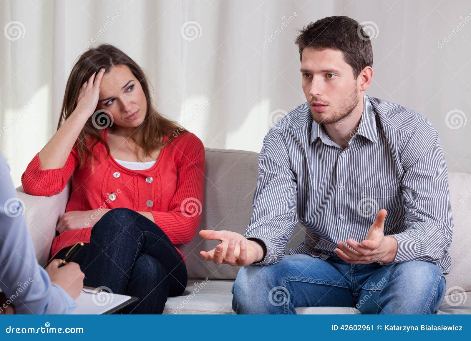 Małżeństwo na psychotherapy