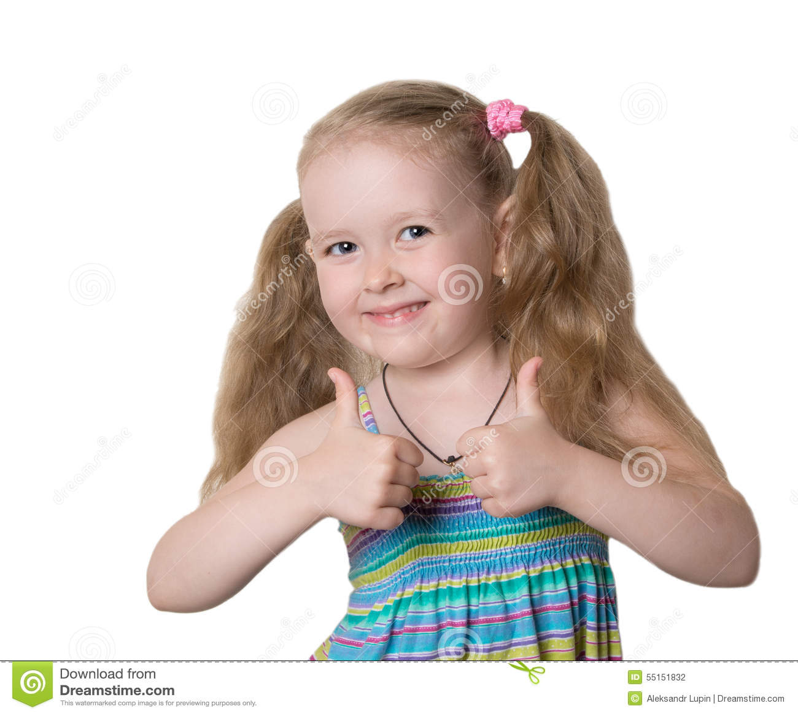 Mała dziewczynka docenia doskonale