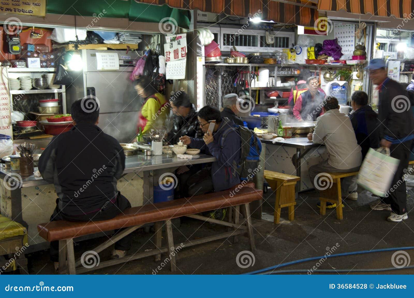 Mała koreańska restauracja