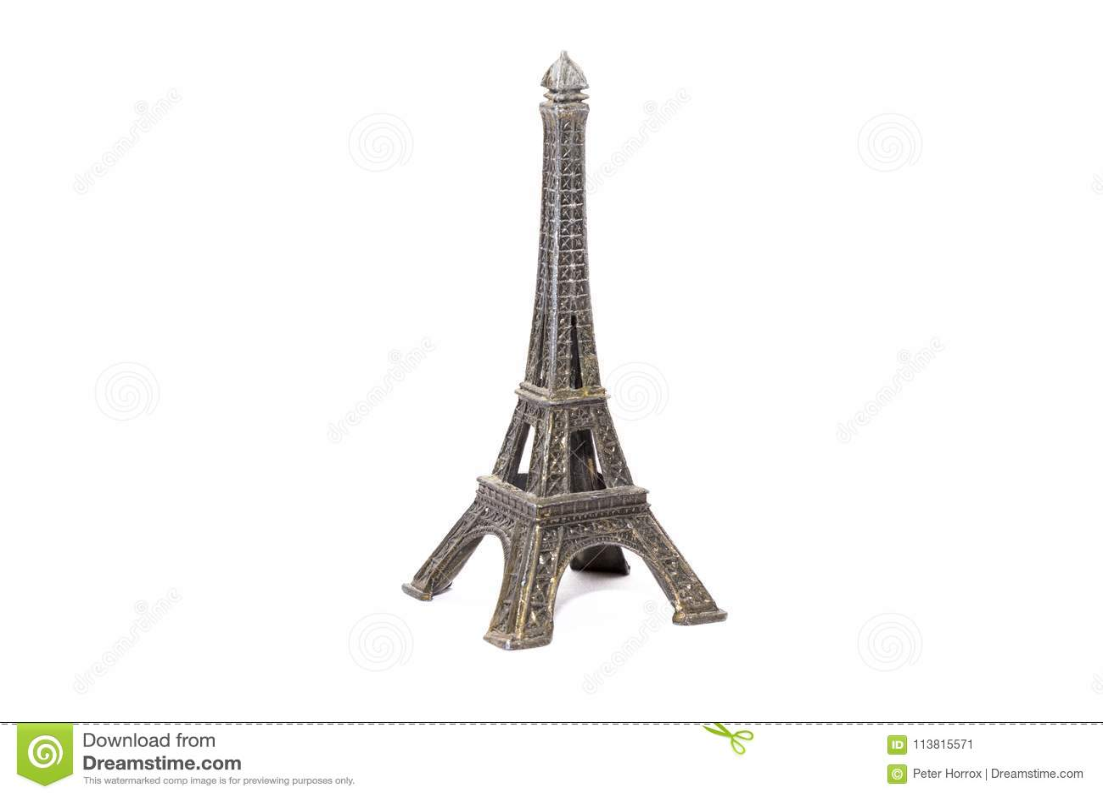 Małego modela Eifel wierza