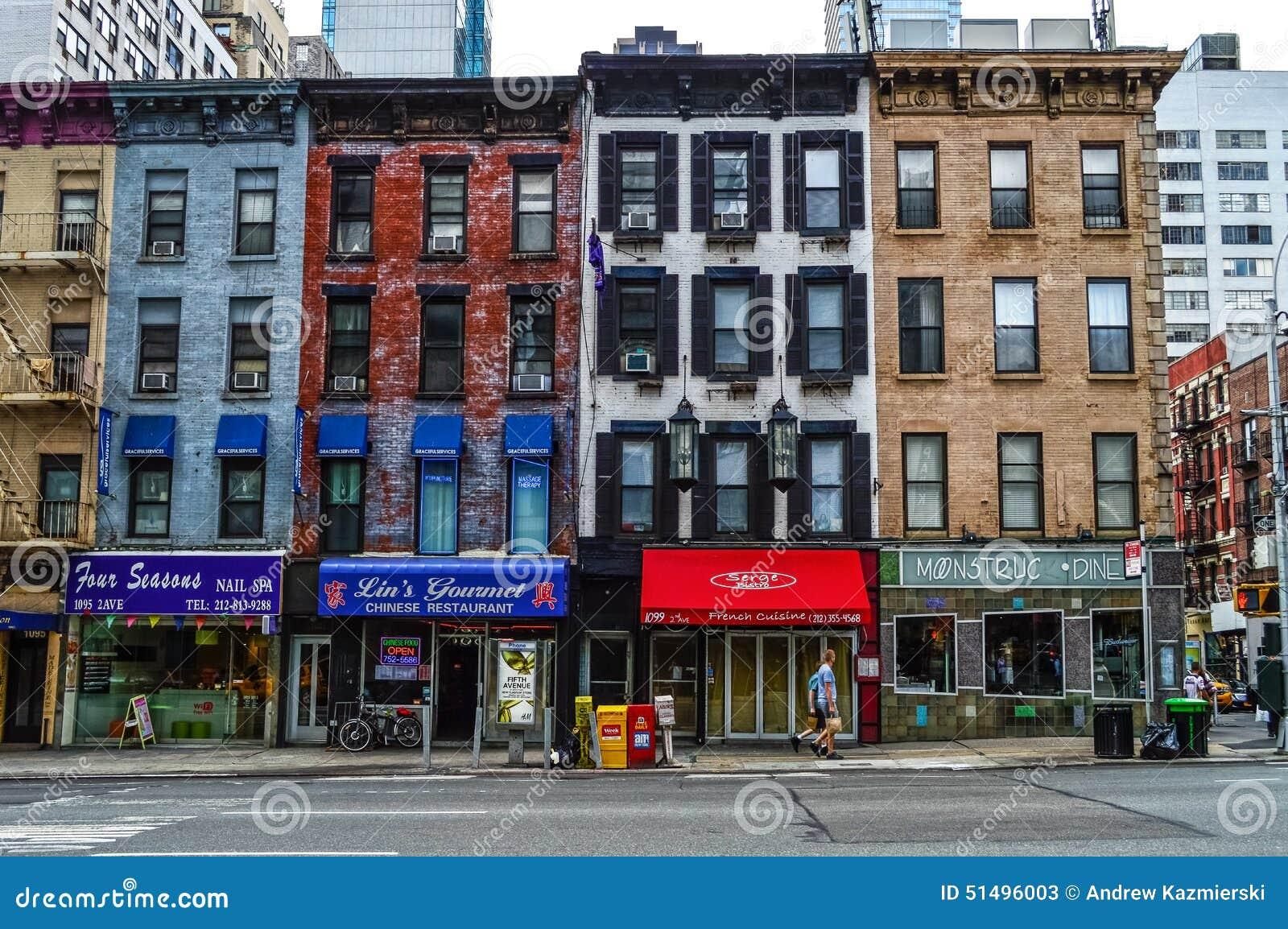 Mały Biznes Miasto Nowy Jork