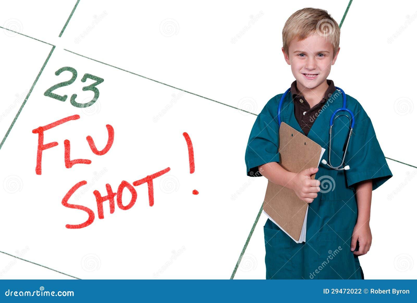 Mały Doktorski szczepionka przeciw grypie