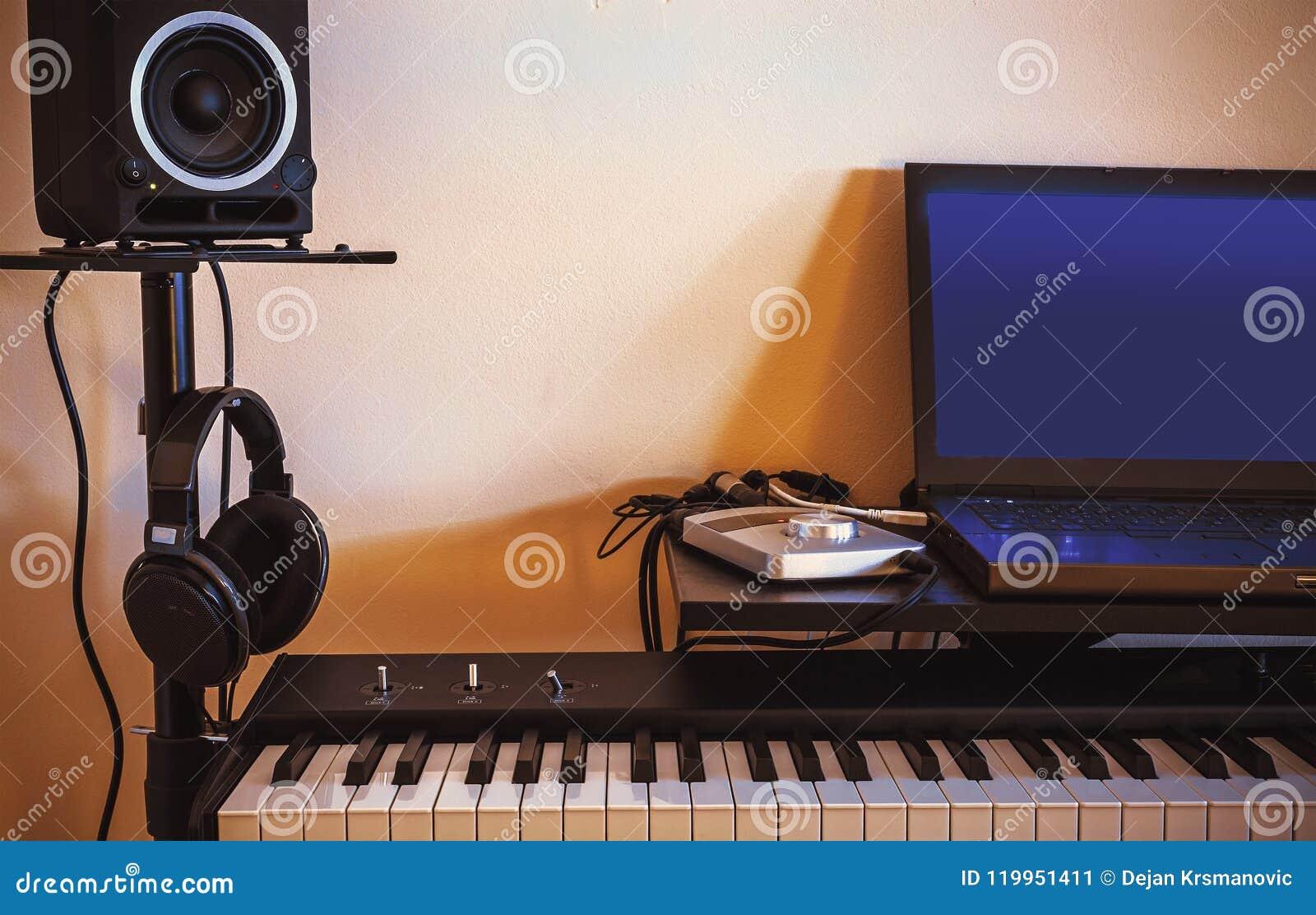 Mały Domowy Audio studio