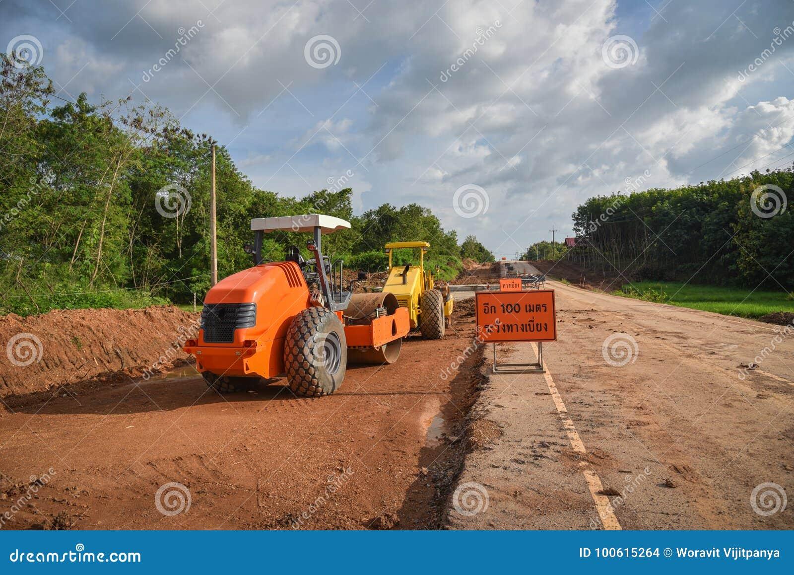 Mały drogowy rolownik