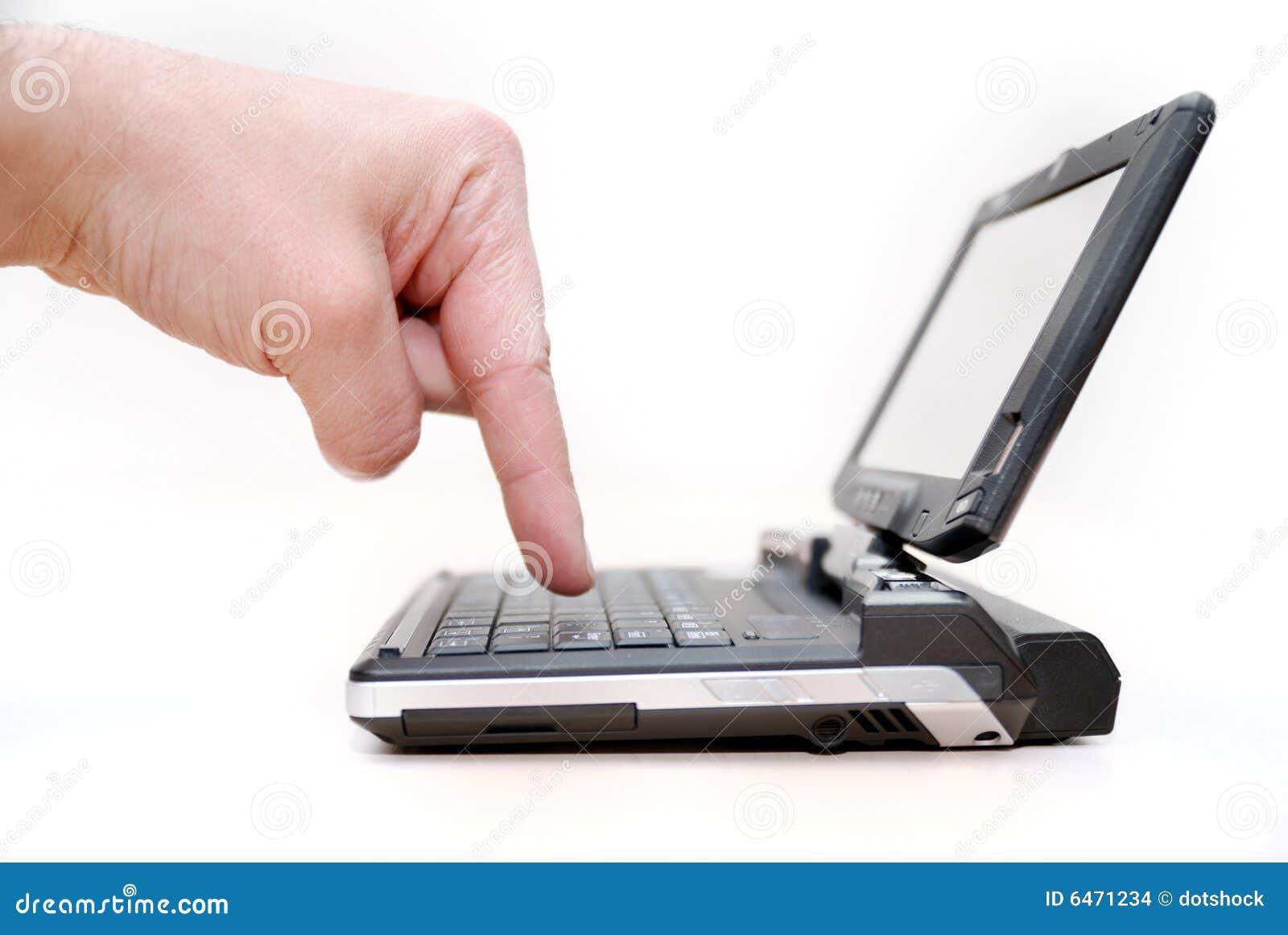 Mały laptop może być