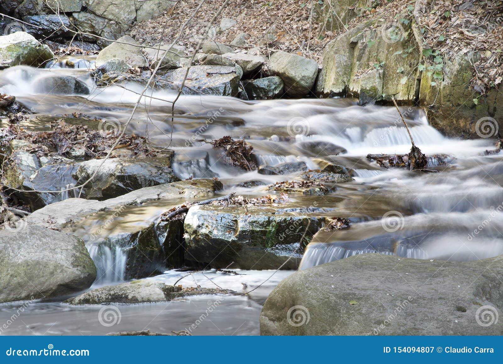 Mały strumień blisko Bolzano