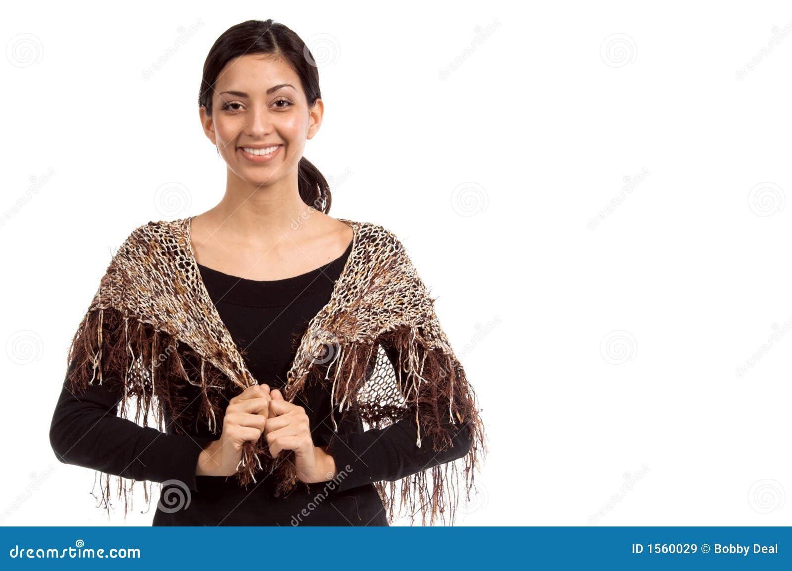 Mały szal mody