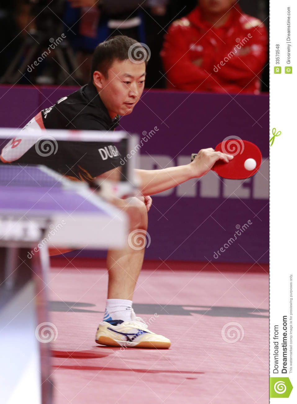 Ma lin chn editorial stock photo image 33570548 - World table tennis championships ...