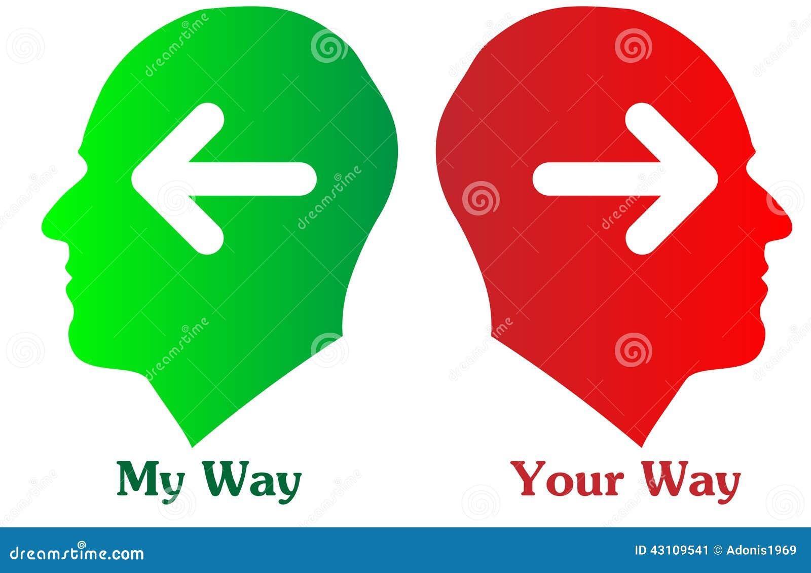Ma manière et votre manière