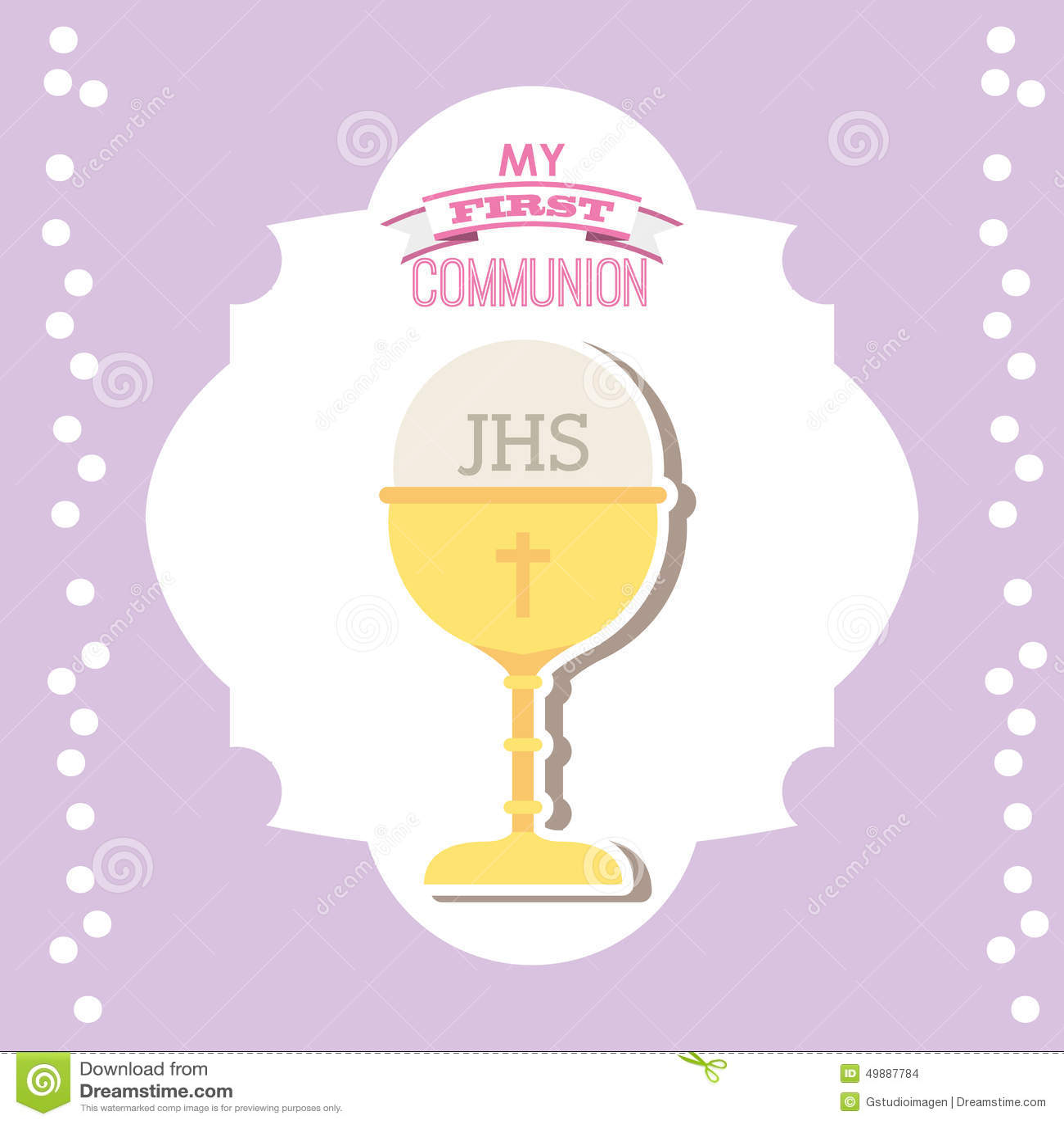 Ma Première Communion Illustration De Vecteur Illustration Du