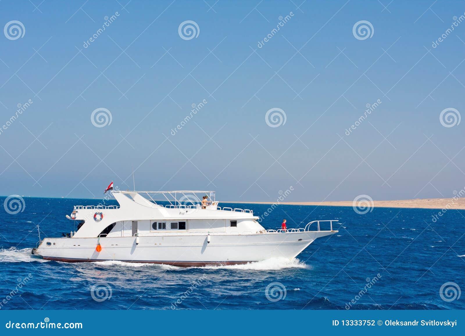 Mały oceanu jacht