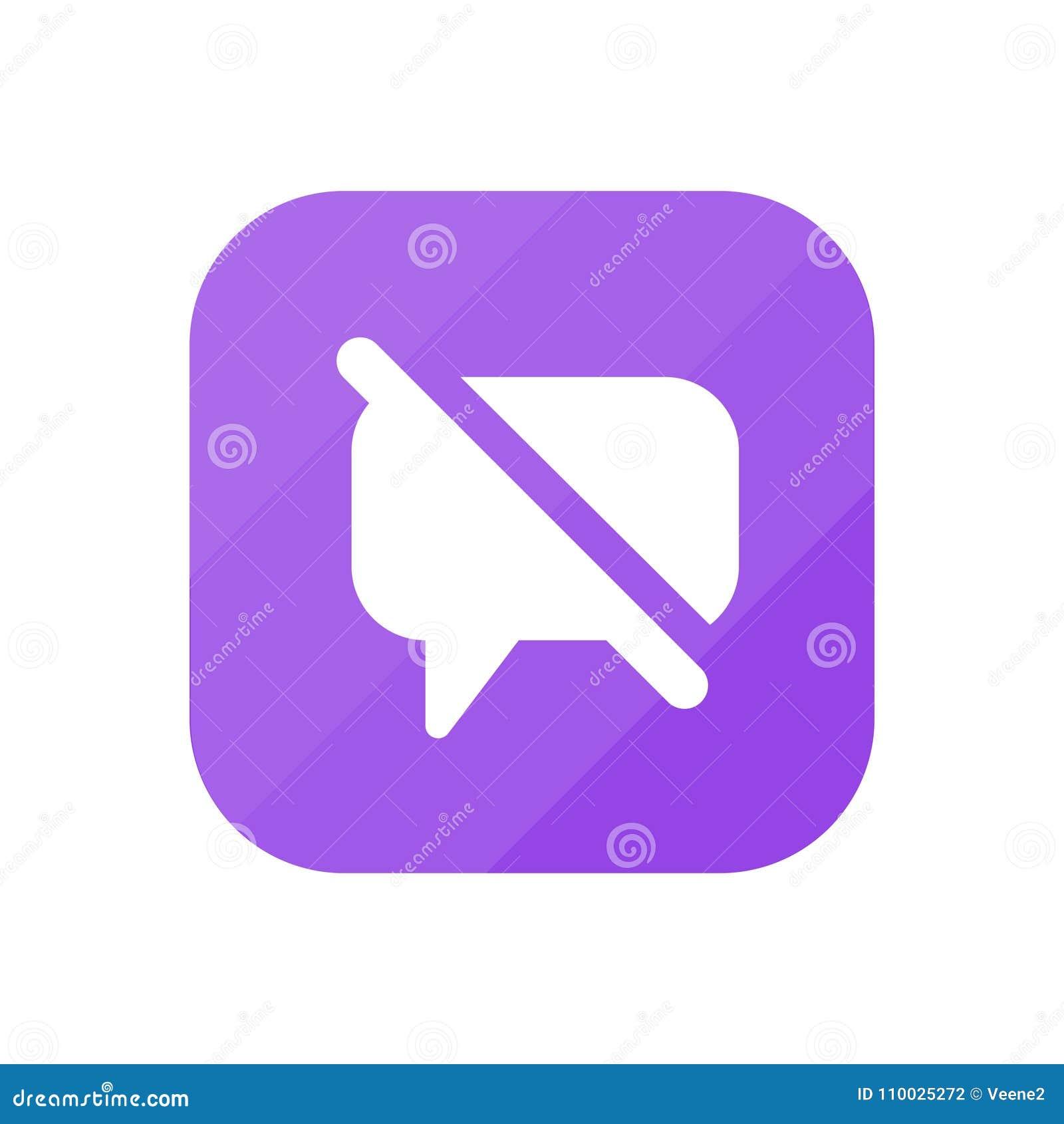 Maak Commentaar onbruikbaar - App Pictogram