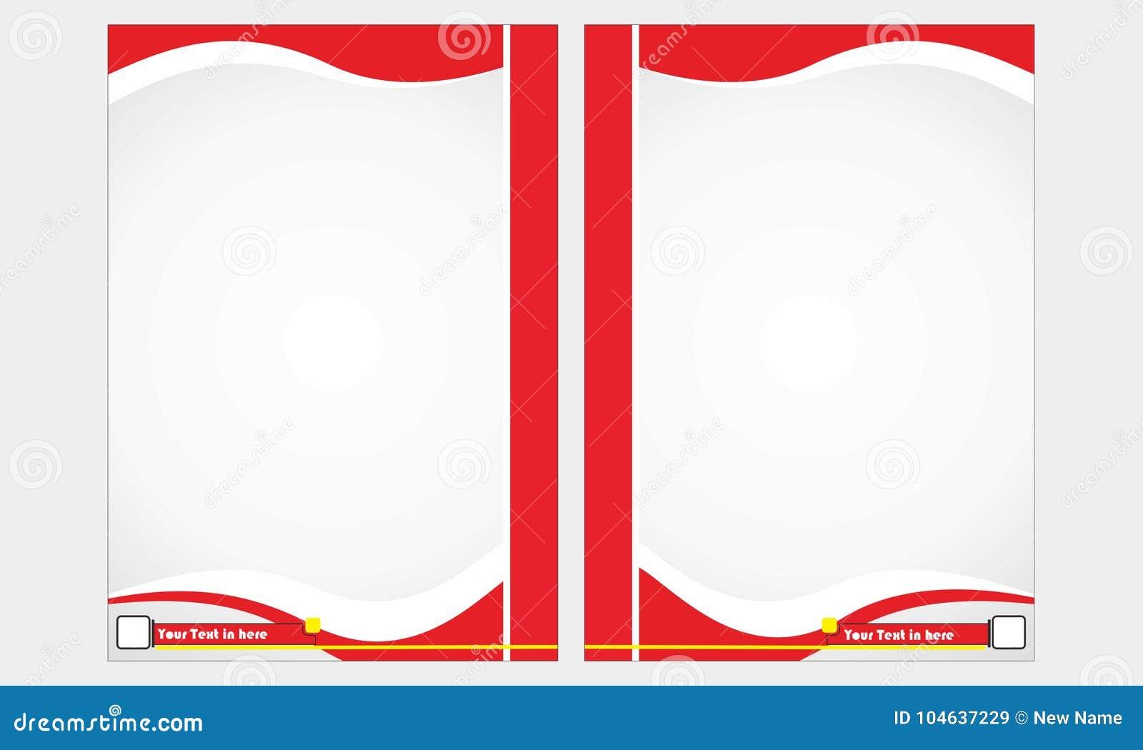 Download Maak Een Boek Op Een Rode Kleur Vector Illustratie - Illustratie bestaande uit rood, voor: 104637229