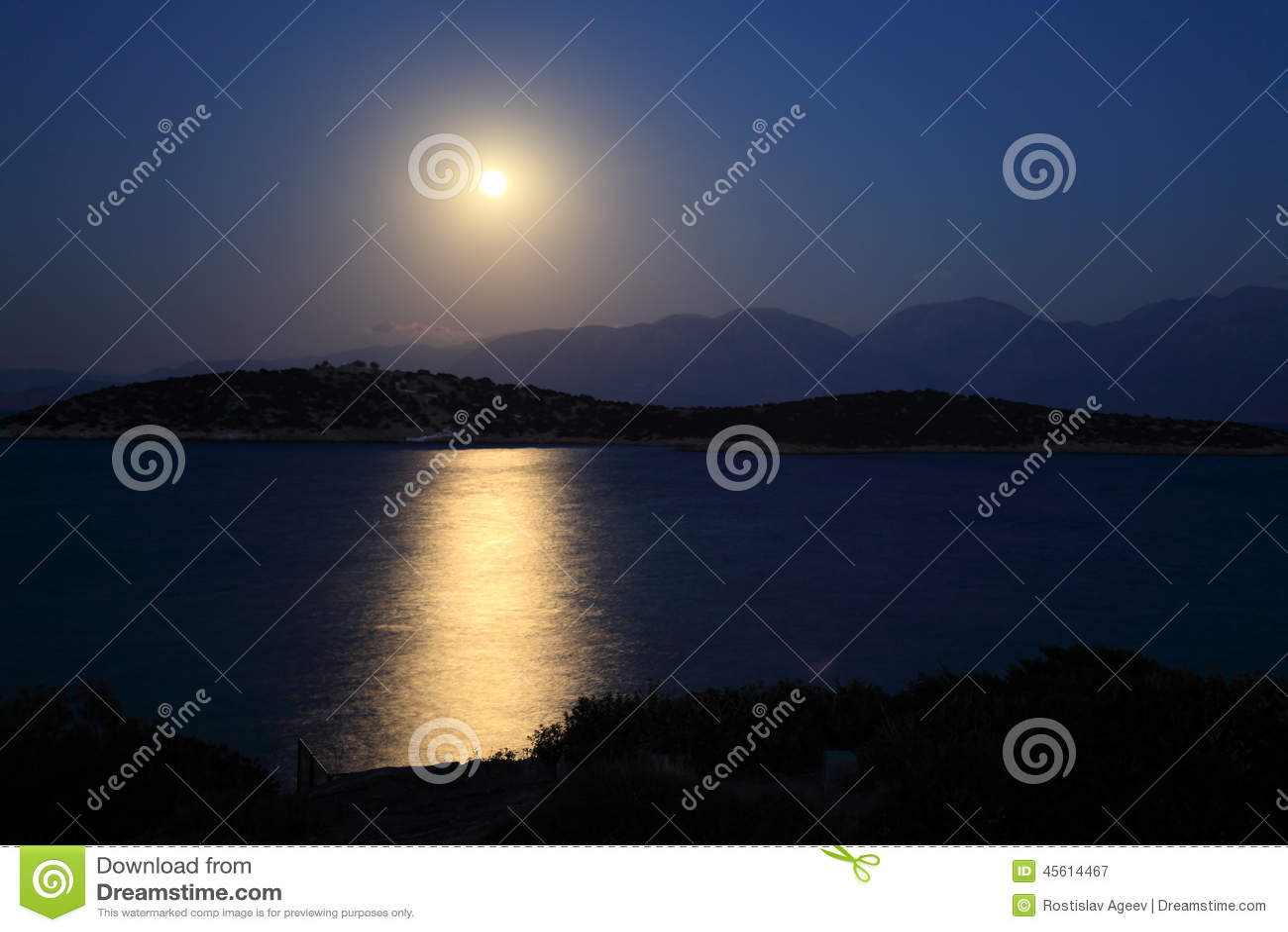 Maanlichtweg en Middellandse Zee
