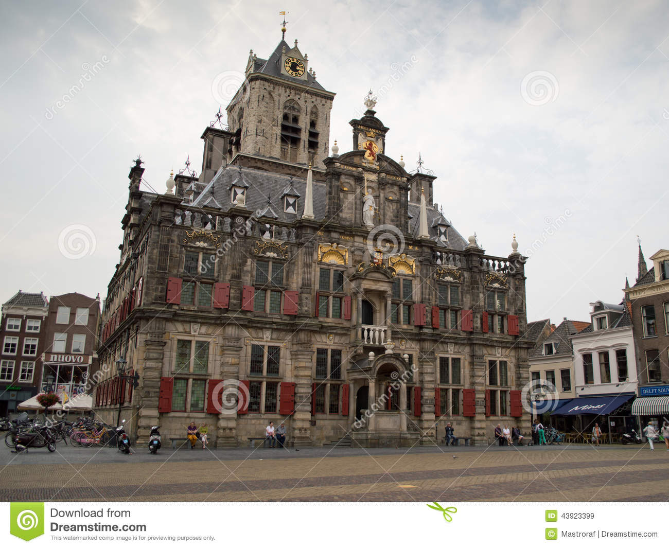 Maastricht town hall editorial stock image image 43923399 for Dutch baroque architecture