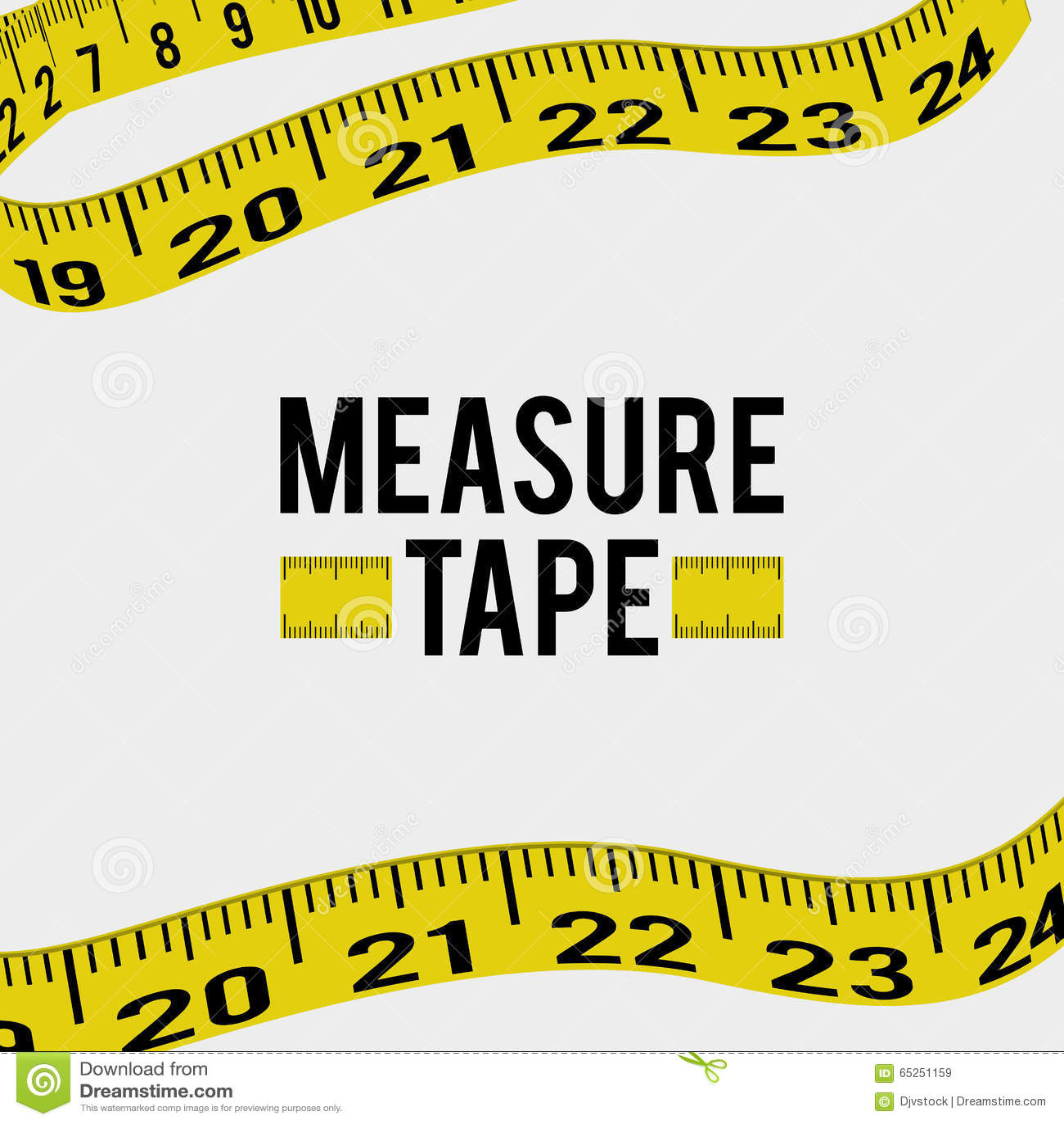 Maatregel band en het op dieet zijn