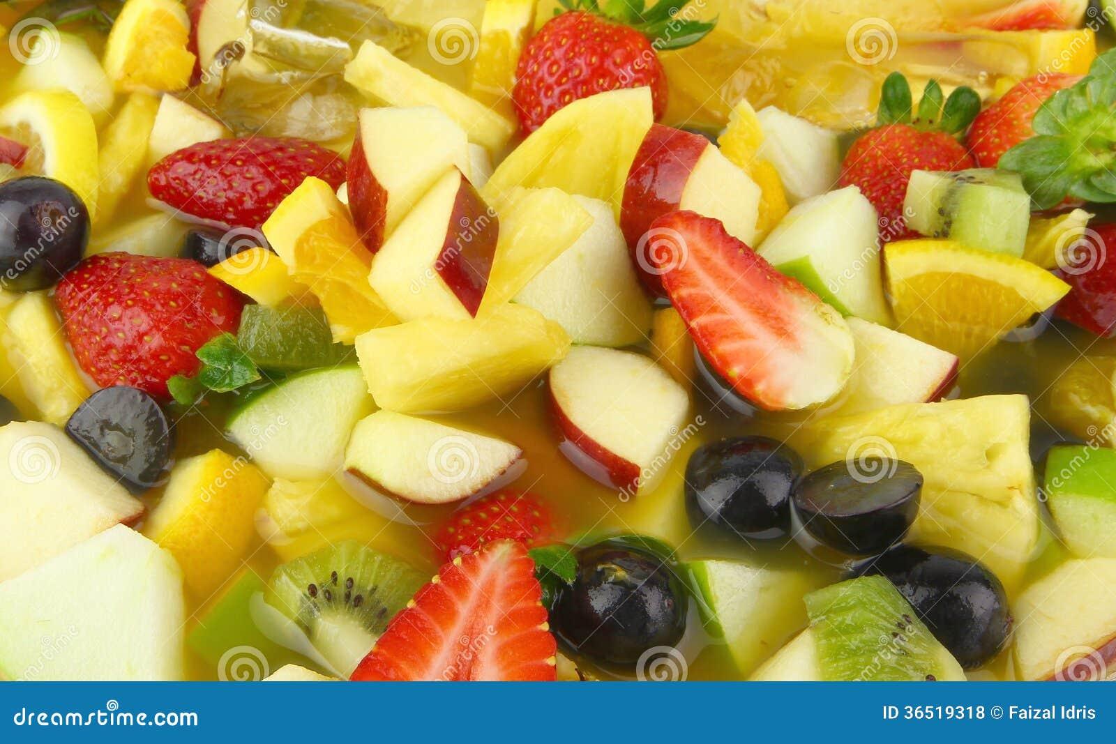 Macédoine de fruits