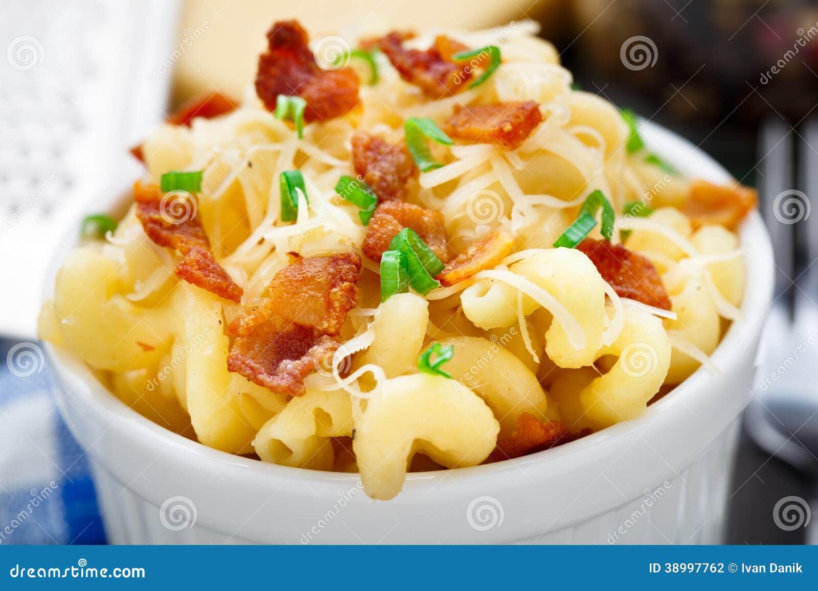 MAC en kaas met bacon