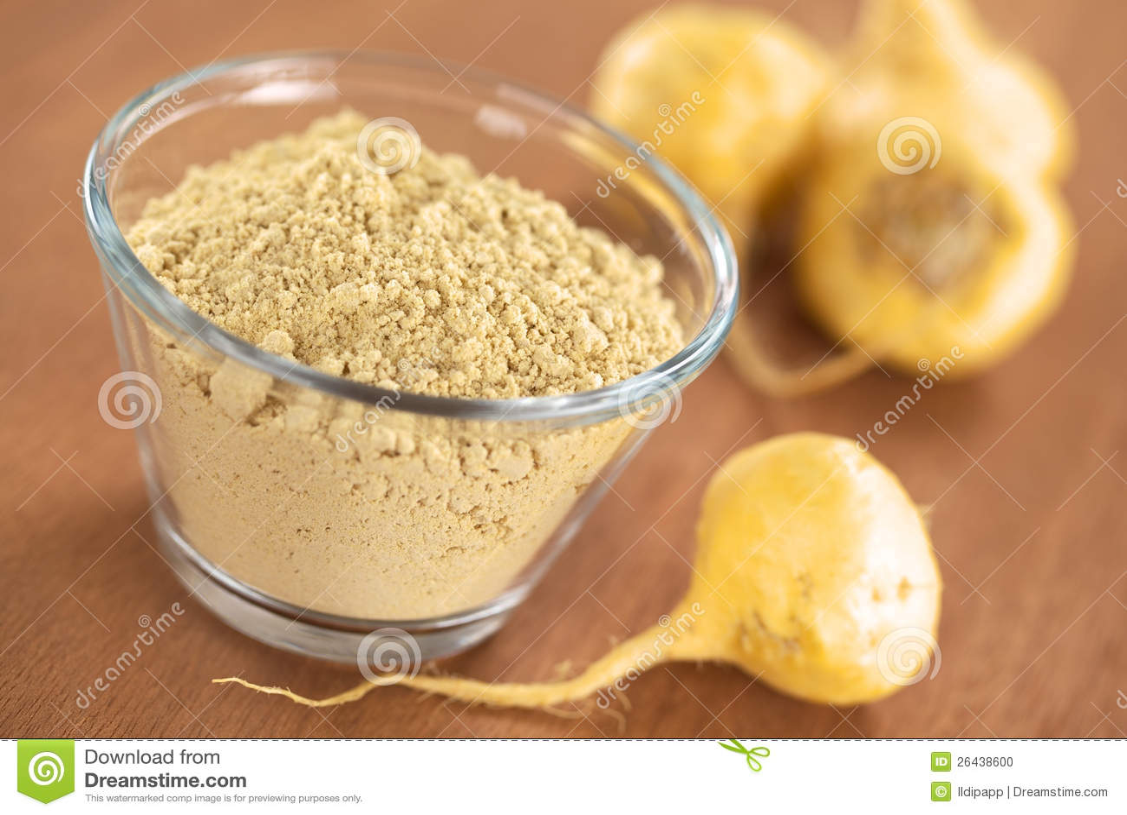 Maca Powder and Maca Root