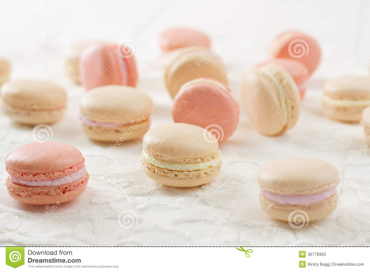 Cream-Filled Macaroon Meringue Cookies Recipes — Dishmaps