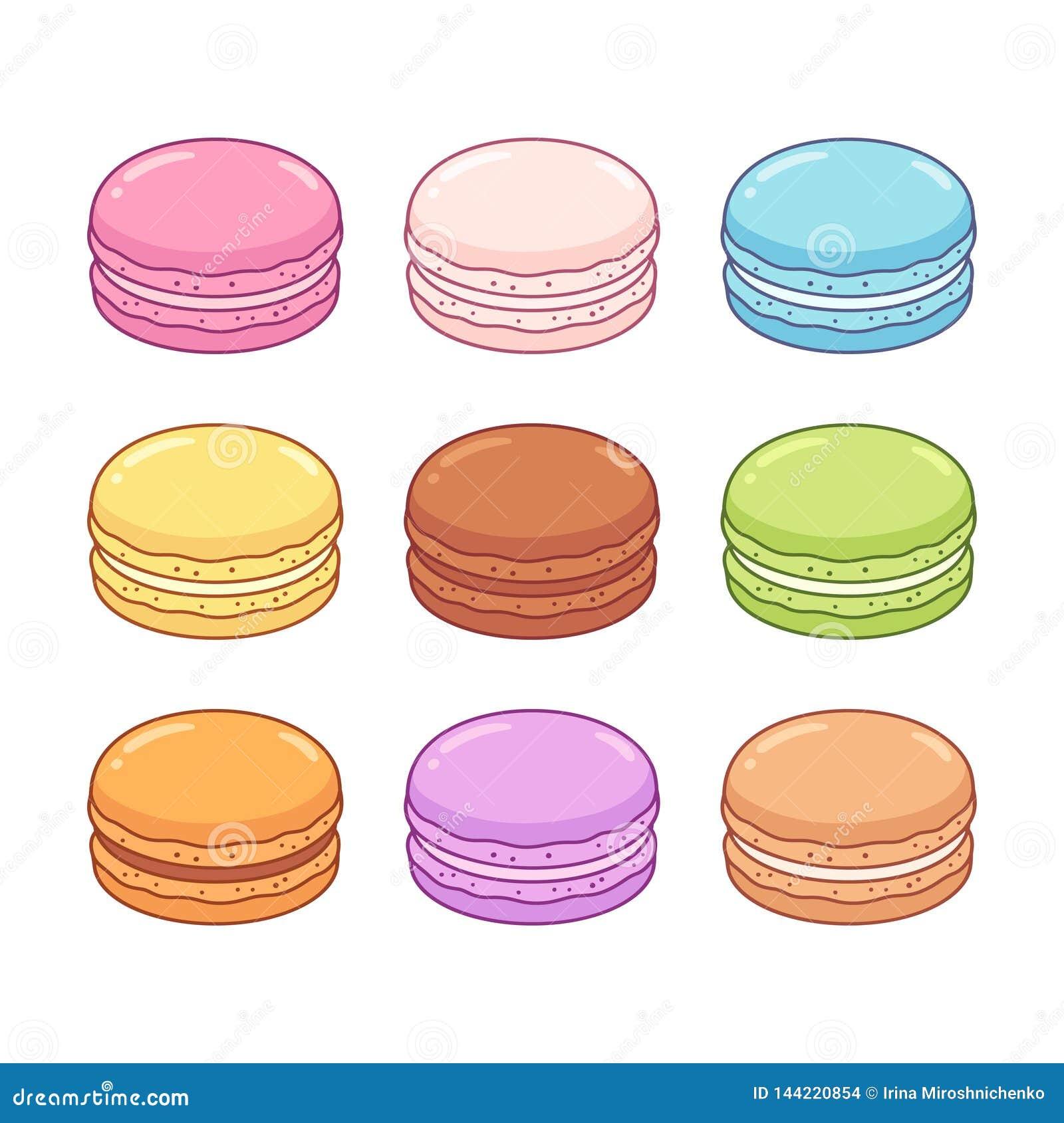 Macaron ciastka ustawiający