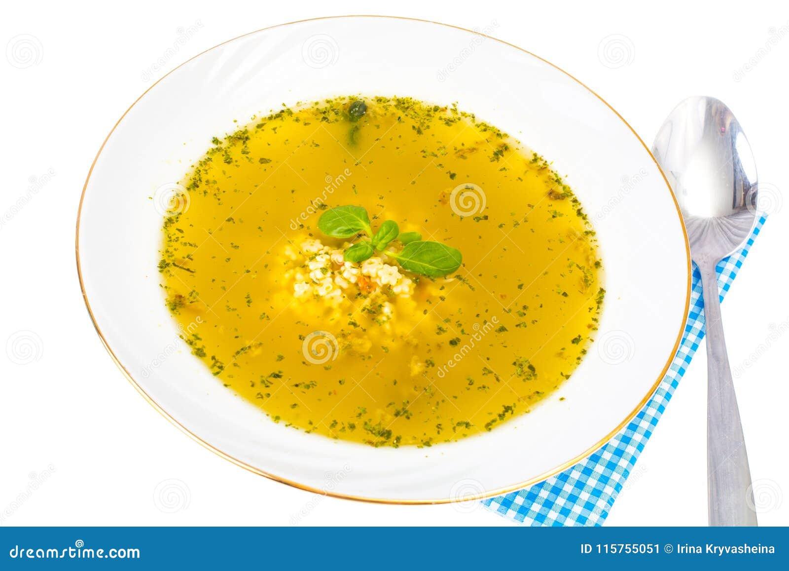 Macaroni τροφίμων ανασκόπησης μωρών ακατέργαστο λευκό σούπα ζυμαρικών κοτόπου&lambda
