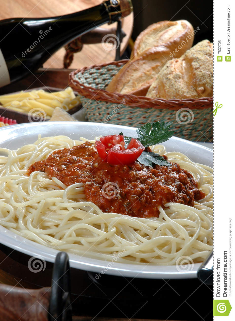Macaroni Stock Image. Image Of Aromatic, Setting, Cuisine