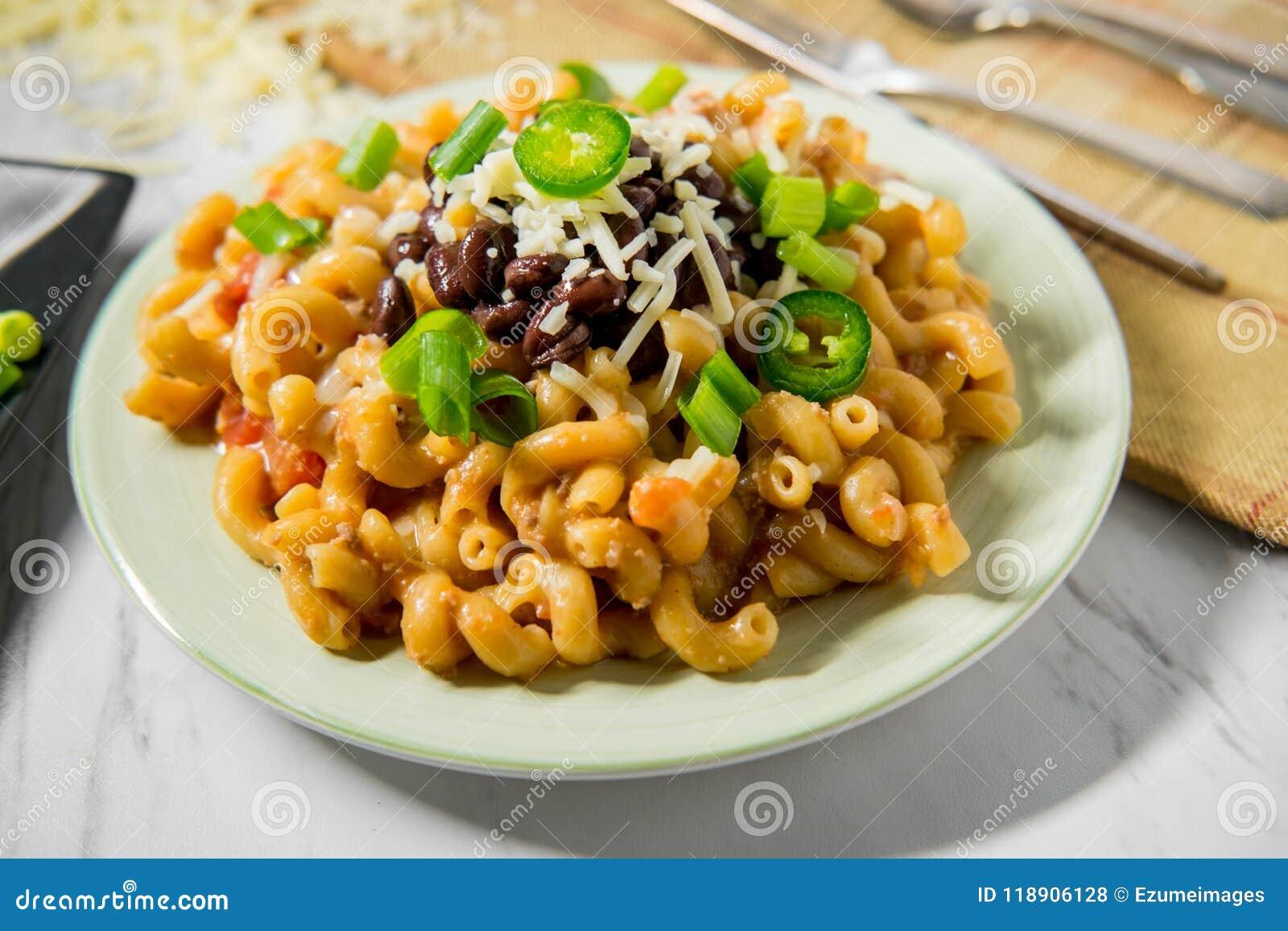 Macaronis au fromage de Taco
